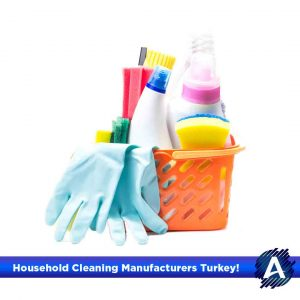 household cleaning manufacturers turkey